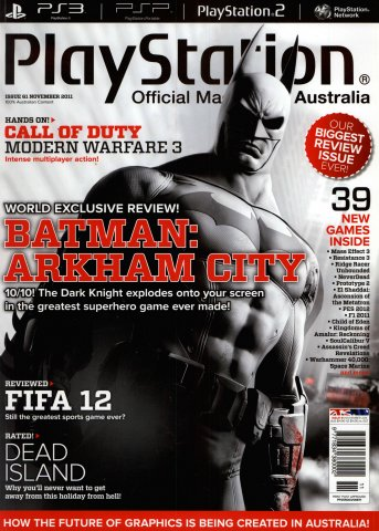 PlayStation Official Magazine Issue 061 (November 2011)