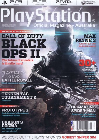 PlayStation Official Magazine Issue 069 (June 2012)
