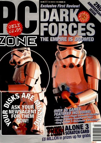 PC Zone Issue 024 (March 1995)