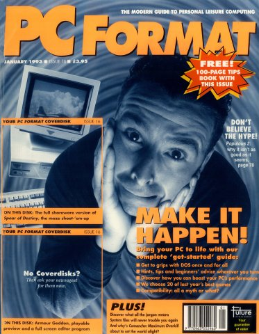 PC Format Issue 016 (January 1993)