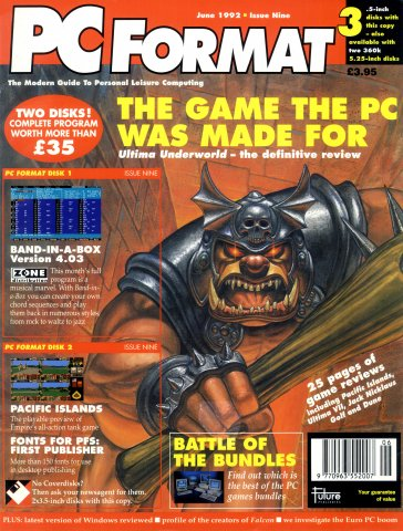 PC Format Issue 009 (June 1992)