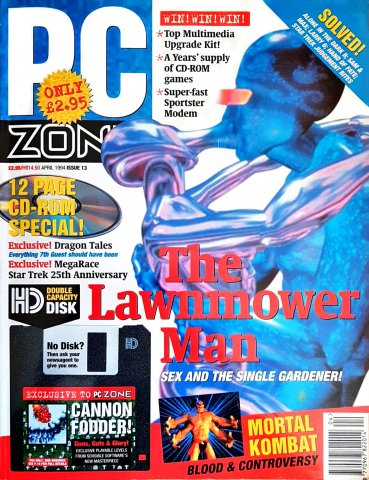 PC Zone Issue 013 (April 1994)
