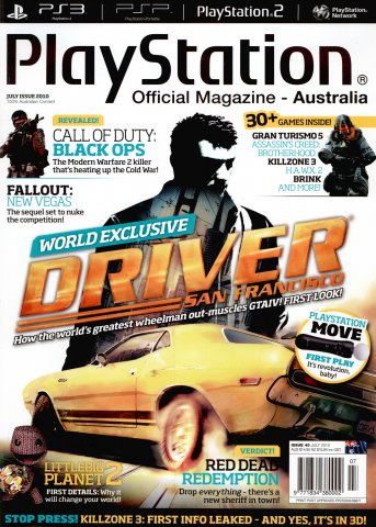 PlayStation Official Magazine Issue 045 (July 2010)
