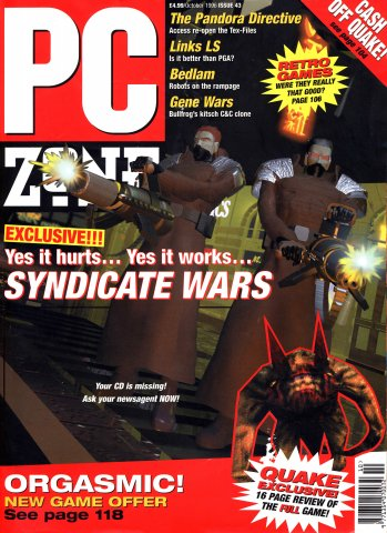 PC Zone Issue 043 (October 1996)