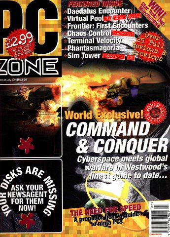 PC Zone Issue 028 (July 1995)