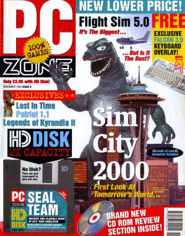 PC Zone Issue 008 (November 1993)