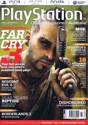 PlayStation Official Magazine Issue 074 (November 2012)