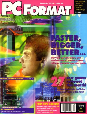 PC Format Issue 015 (December 1992)