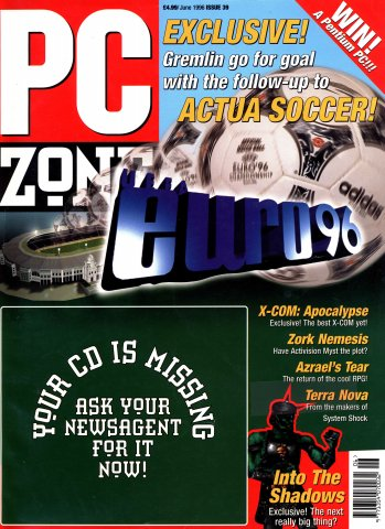 PC Zone Issue 039 (June 1996)