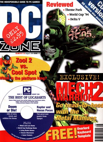 PC Zone Issue 017 (August 1994)