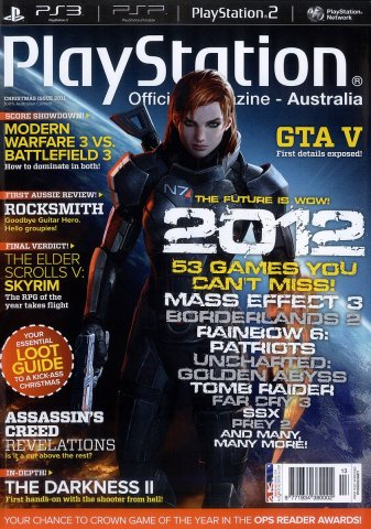 PlayStation Official Magazine Issue 063 (Christmas 2011)