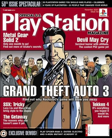 Official U.S. PlayStation Magazine Issue 050 (November 2001)