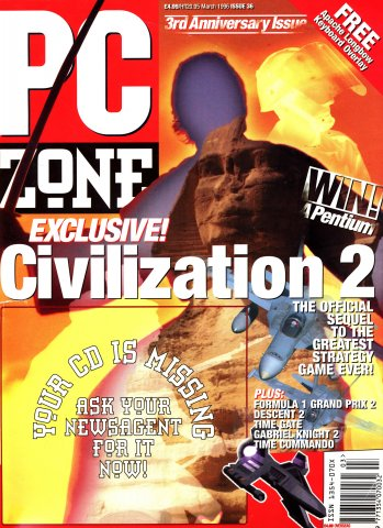 PC Zone Issue 036 (March 1996)