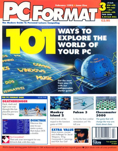 PC Format Issue 005 (February 1992)