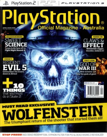 PlayStation Official Magazine Issue 029 (April 2009)