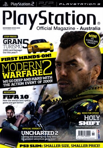 PlayStation Official Magazine Issue 036 (November 2009)