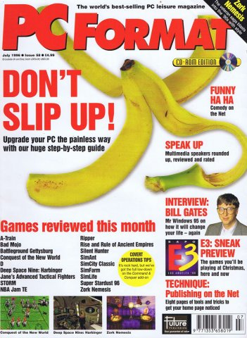 PC Format Issue 058 (July 1996)