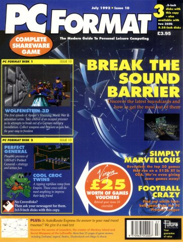 PC Format Issue 010 (July 1992)