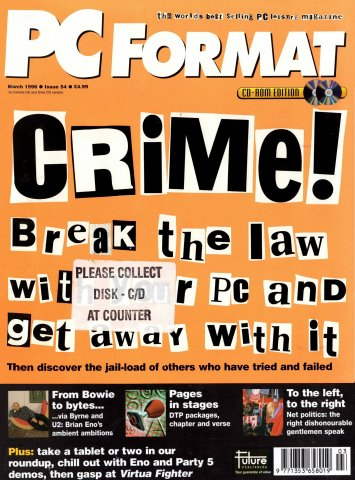 PC Format Issue 054 (March 1996)