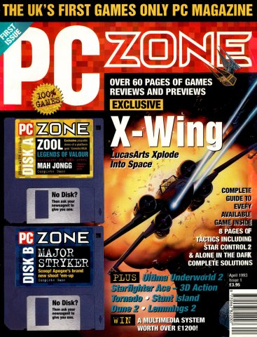 PC Zone Issue 001 (April 1993)