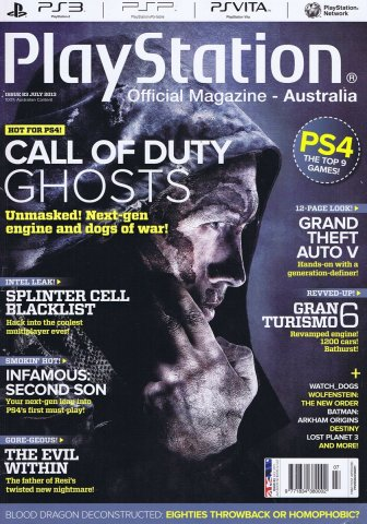 PlayStation Official Magazine Issue 083 (July 2013)