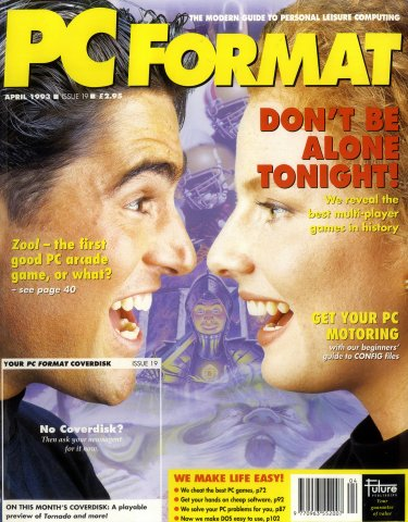 PC Format Issue 019 (April 1993)
