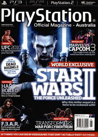 PlayStation Official Magazine Issue 044 (June 2010)