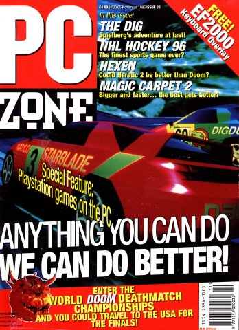 PC Zone Issue 032 (November 1995)