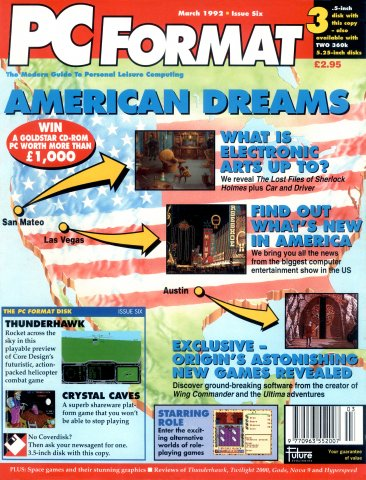 PC Format Issue 006 (March 1992)