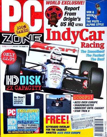PC Zone Issue 010 (January 1994)