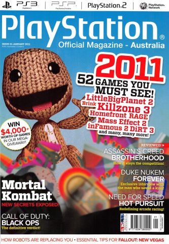 PlayStation Official Magazine Issue 051 (January 2011)
