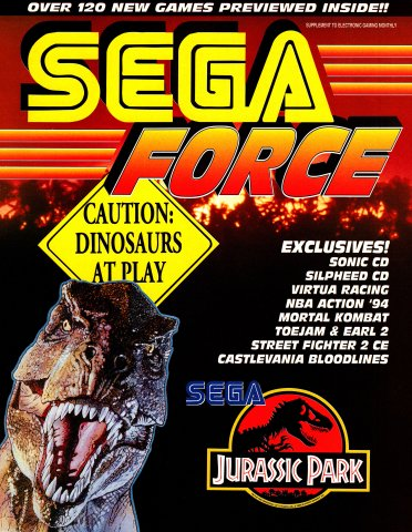 Sega Force Issue 3 July 1993