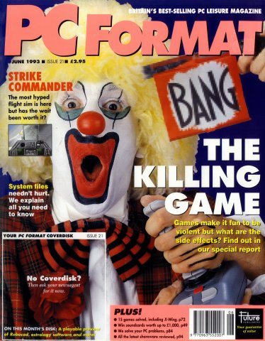 PC Format Issue 021 (June 1993)