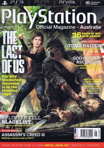 PlayStation Official Magazine Issue 071 (August 2012)