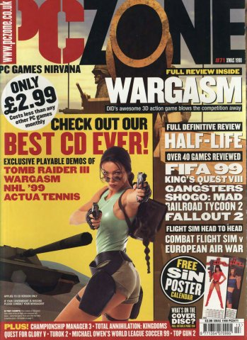 PC Zone Issue 071 (Xmas 1998)