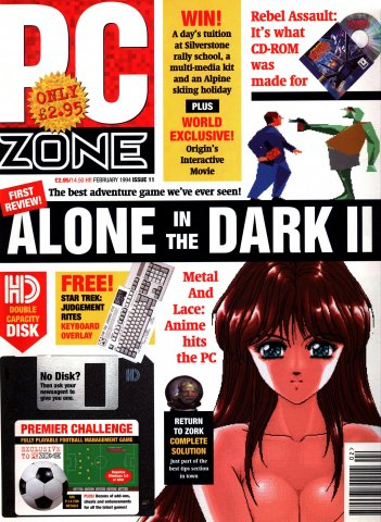 PC Zone Issue 011 (February 1994)