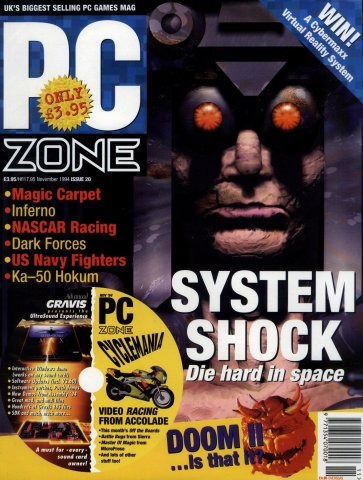 PC Zone Issue 020 (November 1994)