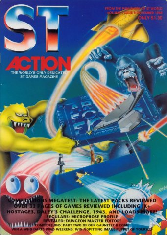 ST Action Issue 08 (December 1988)