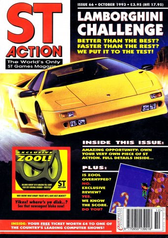 ST Action Issue 66 (October 1993)
