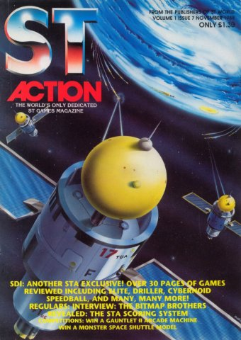 ST Action Issue 07 (November 1988)