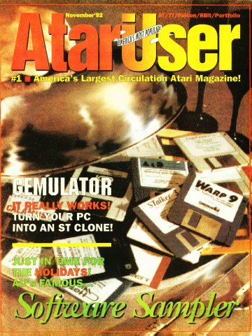 AtariUser 19 (November 1992)