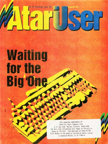 AtariUser 16 (August 1992)