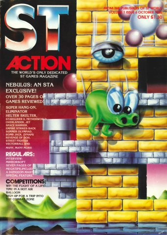 ST Action Issue 06 (October 1988)