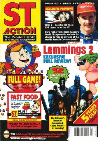ST Action Issue 60 (April 1993)