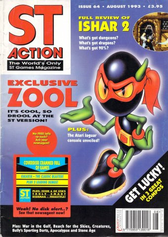 ST Action Issue 64 (August 1993)