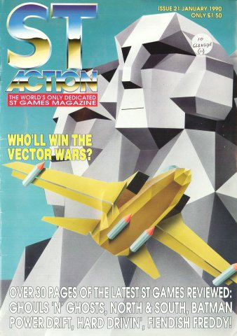 ST Action Issue 21 (January 1990)
