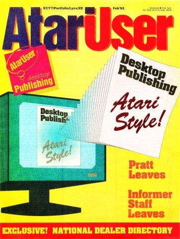 AtariUser 10 (February 1992)