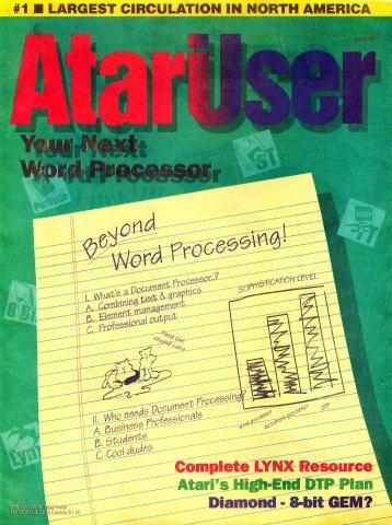 AtariUser 02 (June 1991)