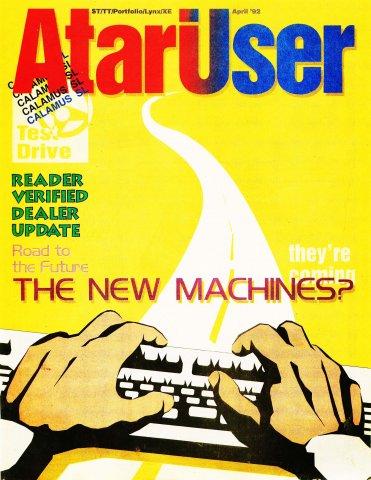 AtariUser 12 (April 1992)