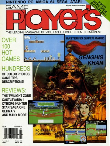 Game Player's Issue 001 May 1989